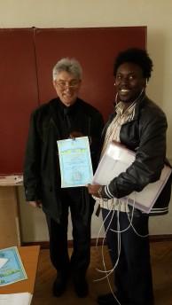 Award Winning Certificate